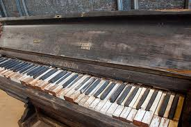Distressed Piano
